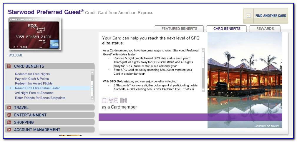 Starwood Preferred Business Card