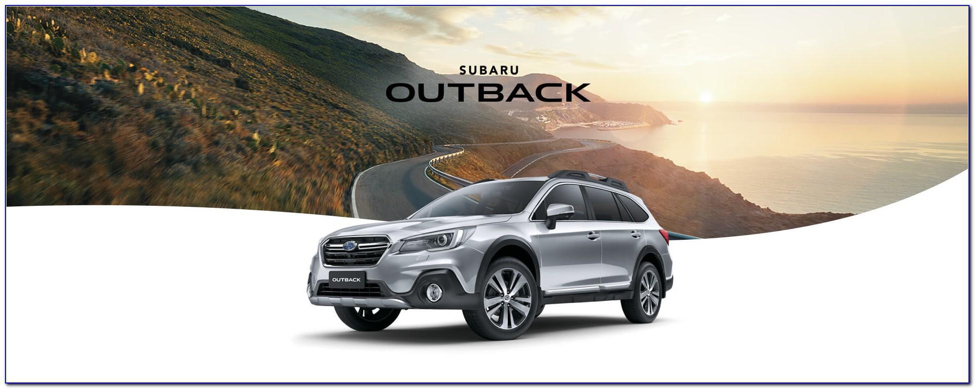 Subaru Outback Brochure 2015