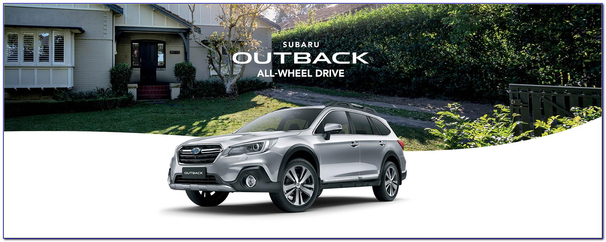 Subaru Outback Brochure 2017