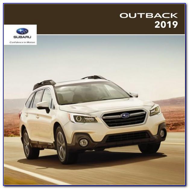 Subaru Outback Brochure Download