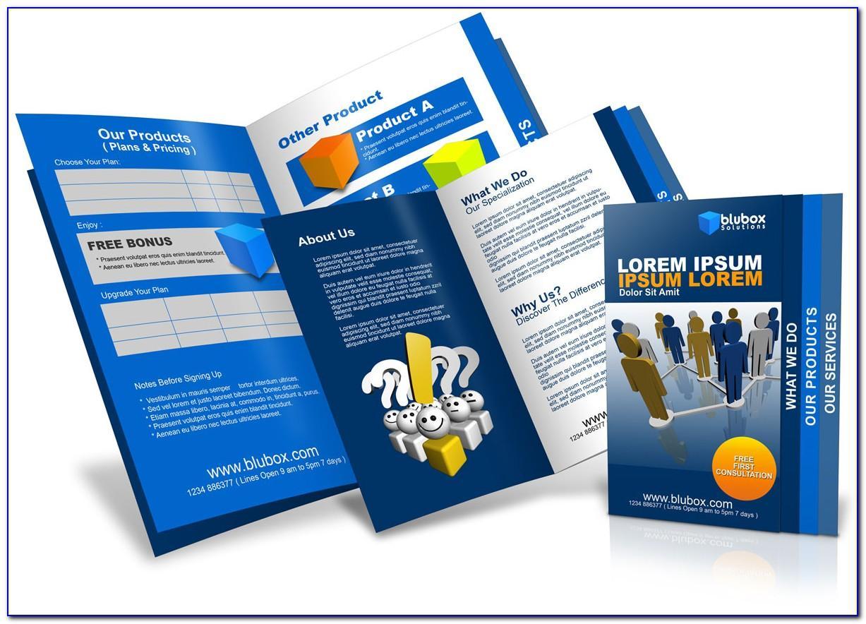 Tabbed Brochure Template