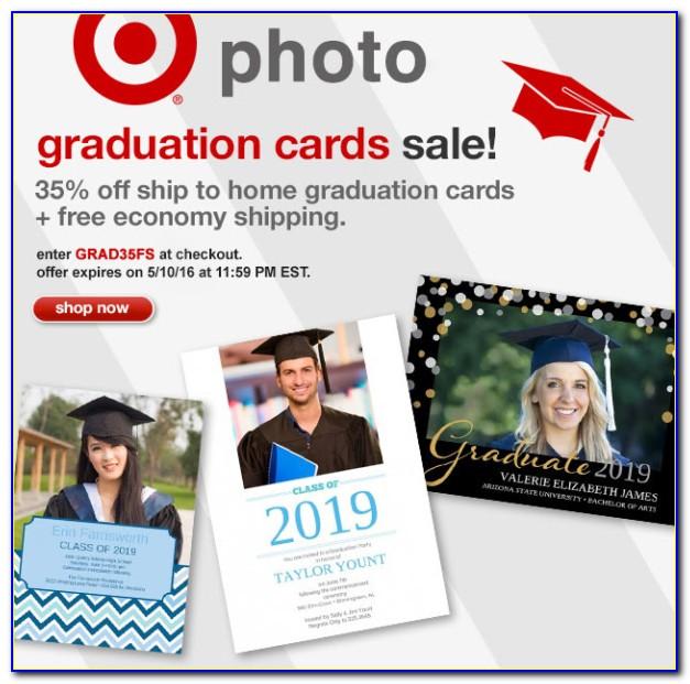 Target Graduation Announcements