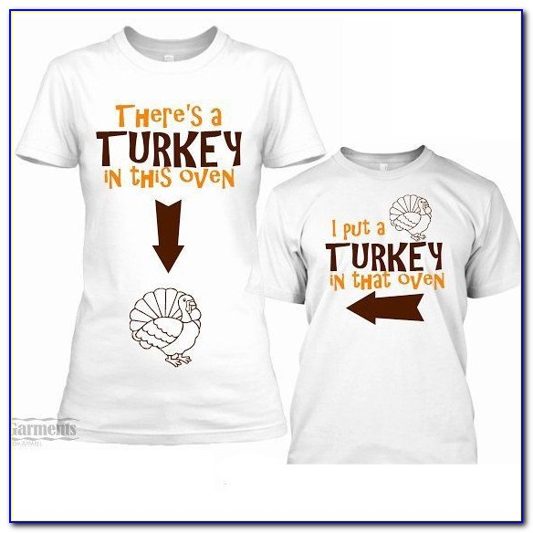 Thanksgiving Baby Announcement Shirts