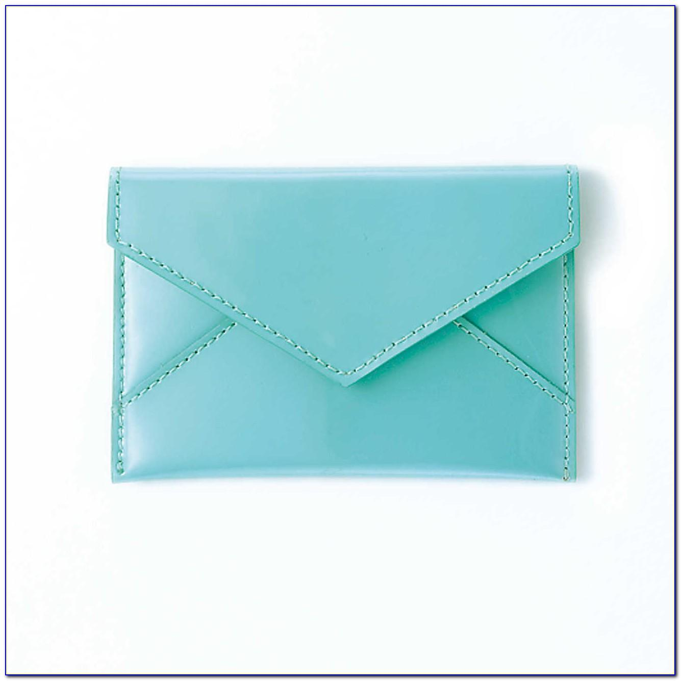 Tiffany Blue Business Card Holder