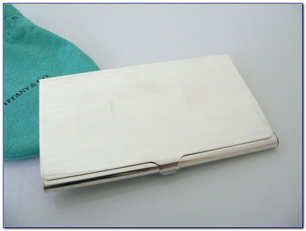 Tiffany & Co Business Card Holder