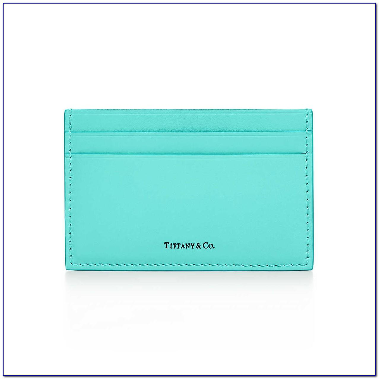 Tiffany & Co Silver Business Card Holder