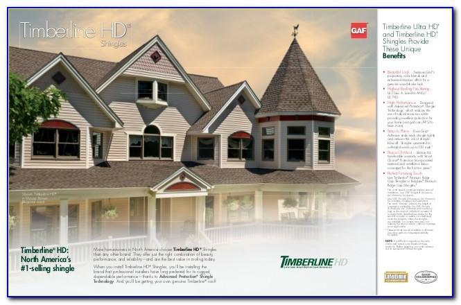 Timberline Shingles Brochure