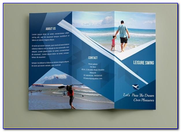 Travel Brochure Template Canva