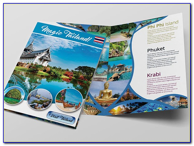 Travel Brochure Template Free Download