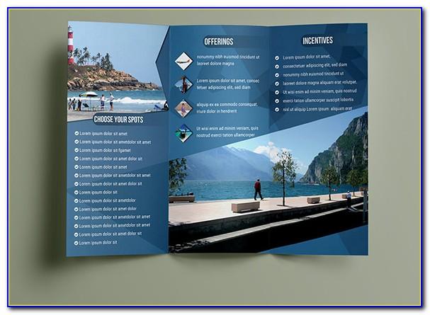 Travel Brochure Template Psd
