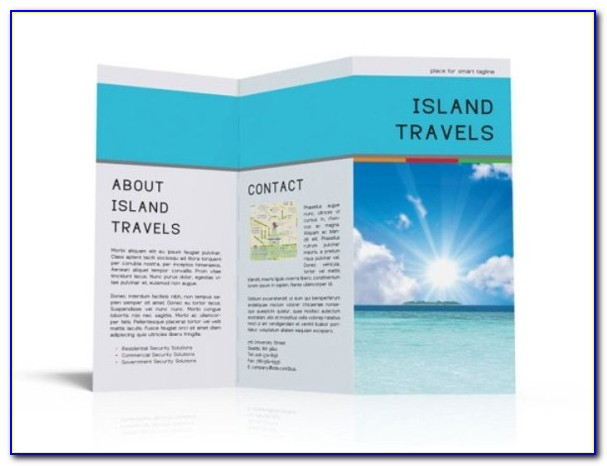 Travel Brochure Template Publisher Free Download