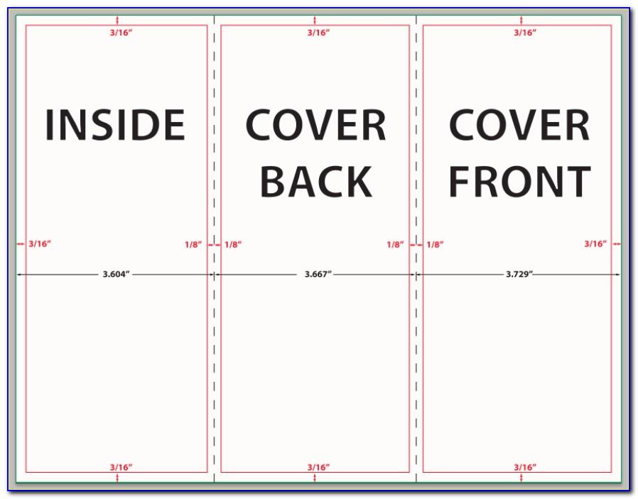 Tri Fold Brochure Dimensions Illustrator