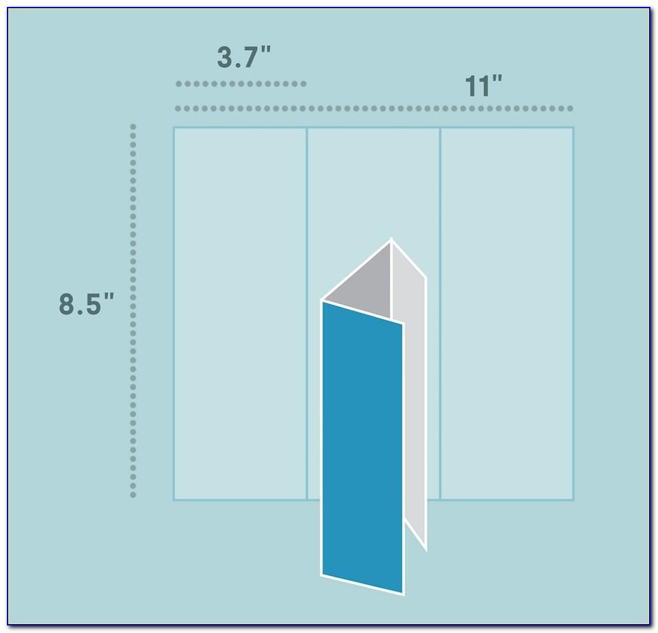 Tri Fold Brochure Dimensions Indesign