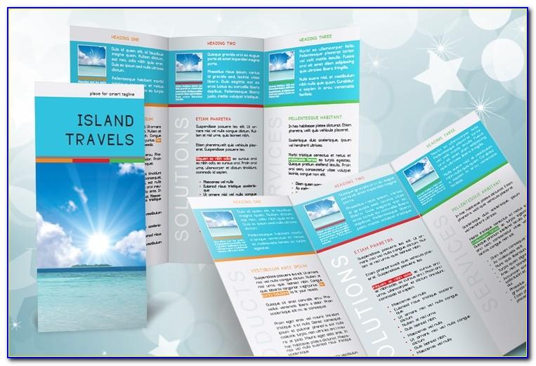 Tri Fold Brochure Indesign Template Download