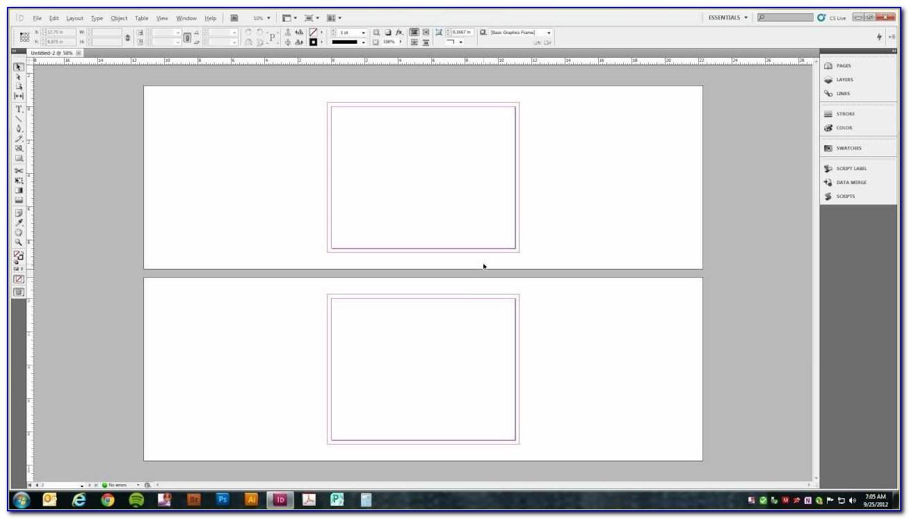 Tri Fold Brochure Indesign Tutorial
