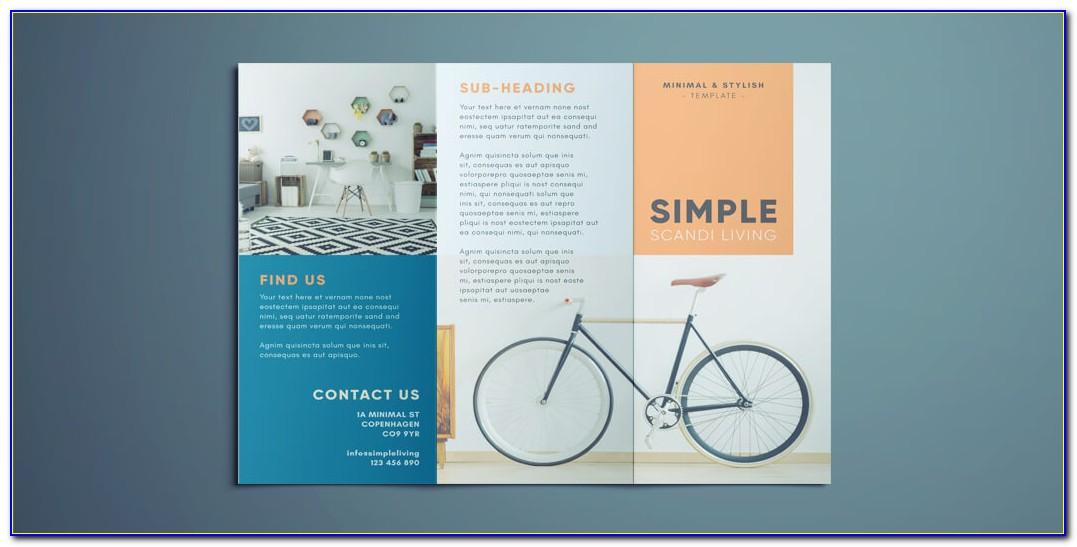 Tri Fold Brochure Layout Indesign