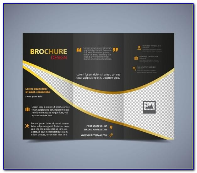 Tri Fold Brochure Template Ai Free Download