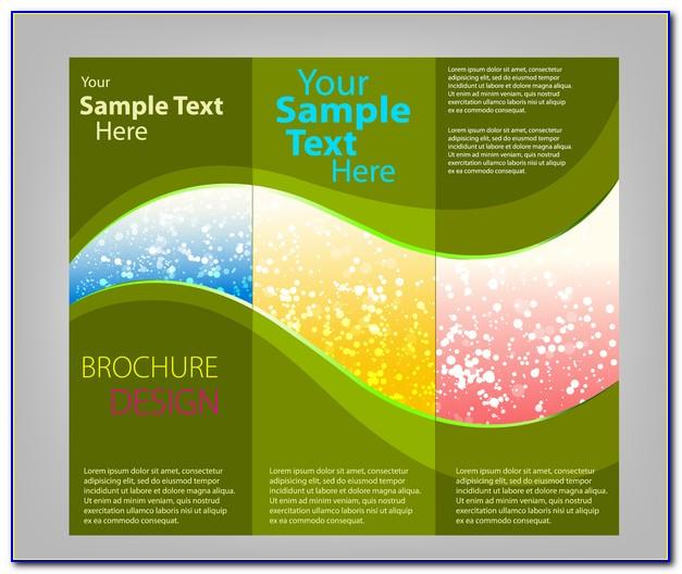 Tri Fold Brochure Template Illustrator A4
