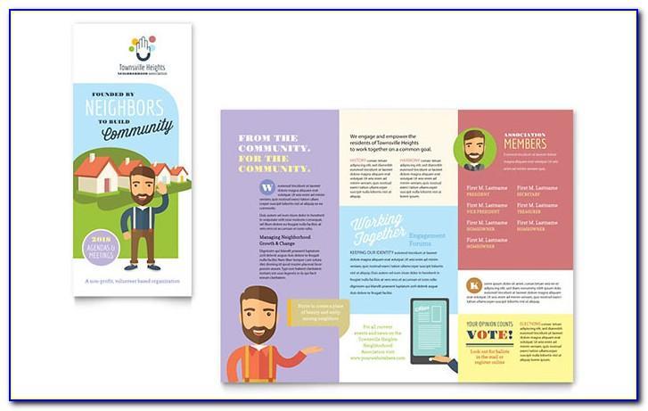 Tri Fold Brochure Template Microsoft Publisher Free