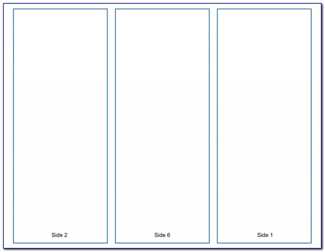 Tri Fold Brochure Template Ppt
