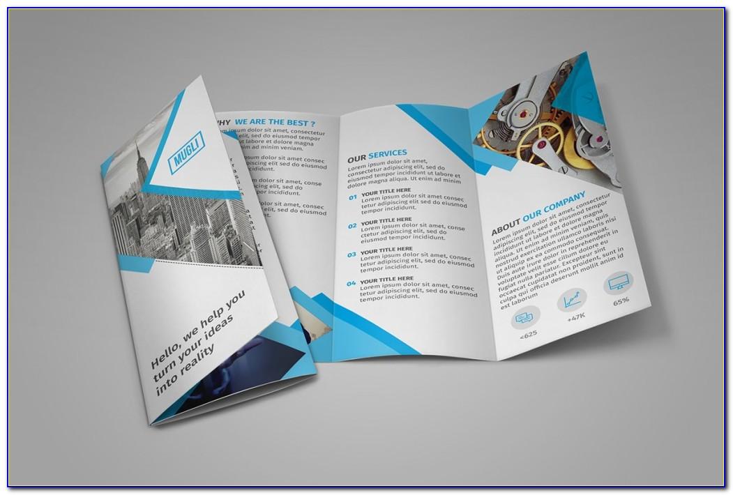 Tri Fold Brochure Templates Indesign