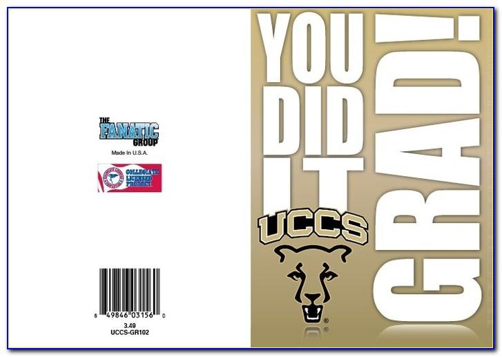 Uccs Graduation Announcements