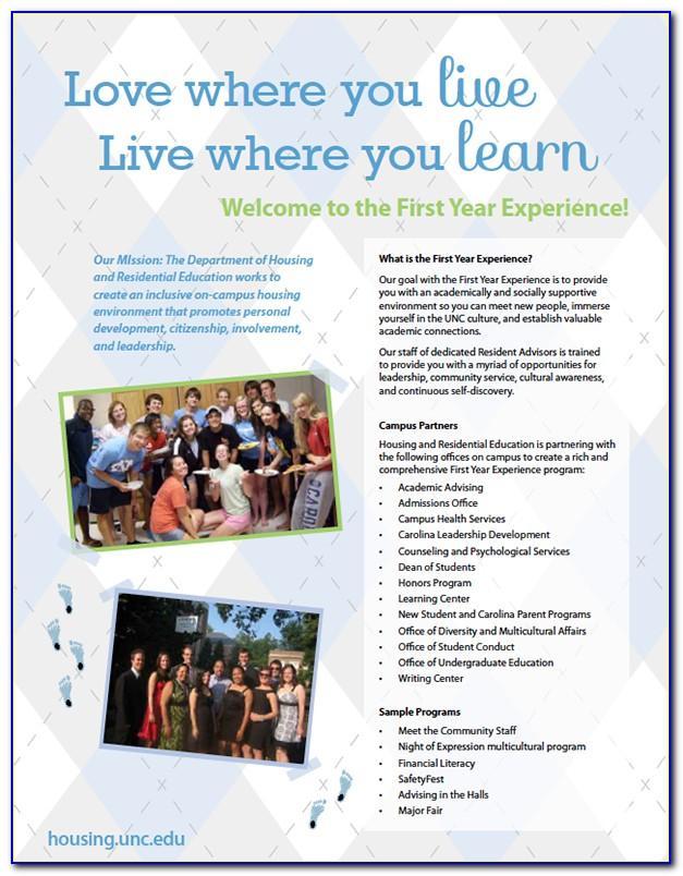 Unc Chapel Hill Brochure