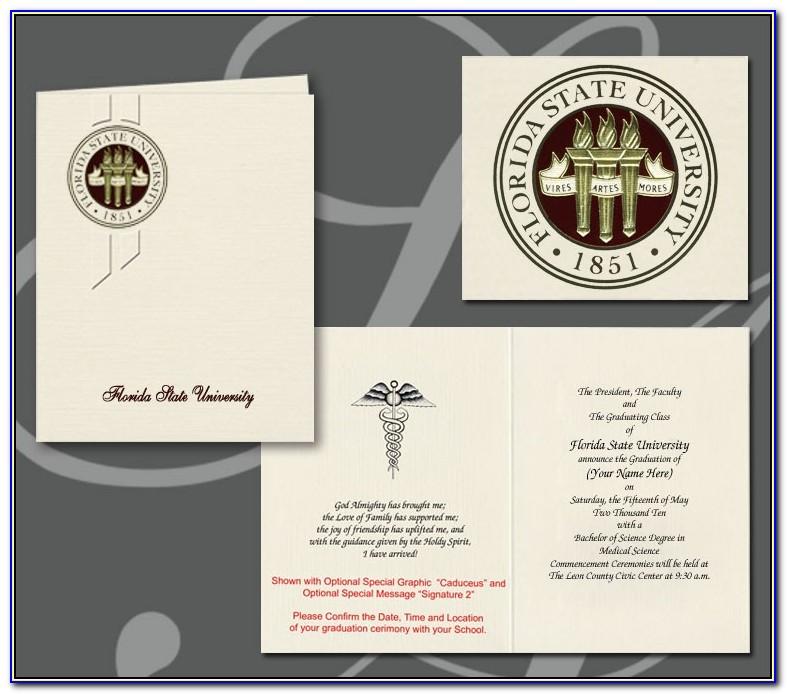 Unc Graduation Announcements