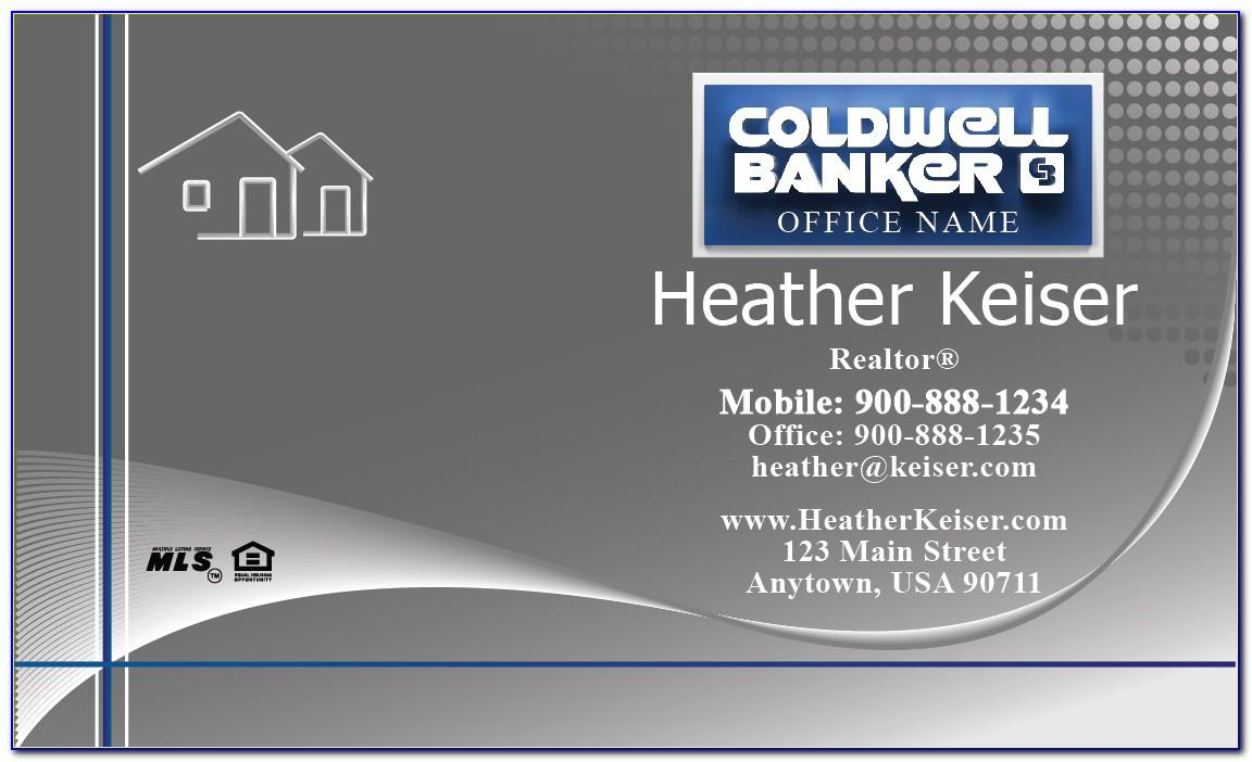 Unique Coldwell Banker Business Cards