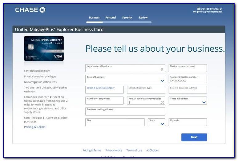 United Explorer Business Card Bonus