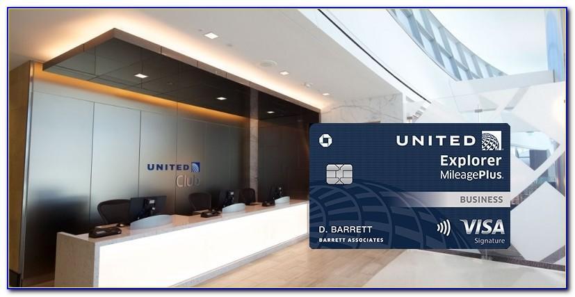 United Explorer Club Business Card
