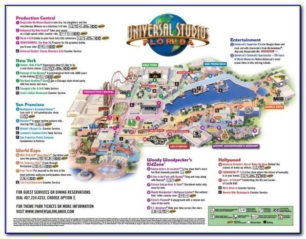 Universal Orlando Brochure 2018