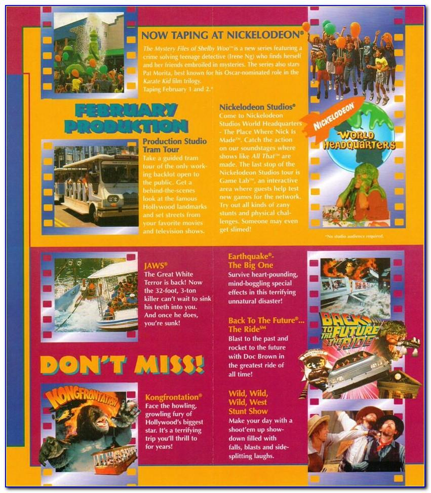 Universal Orlando Brochure 2020