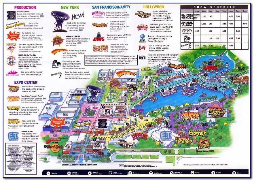 Universal Orlando Resort Brochure