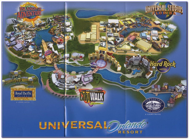 Universal Studios Orlando Brochure Request