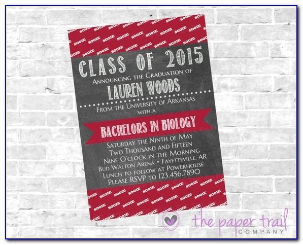 University Of Houston Graduation Announcements