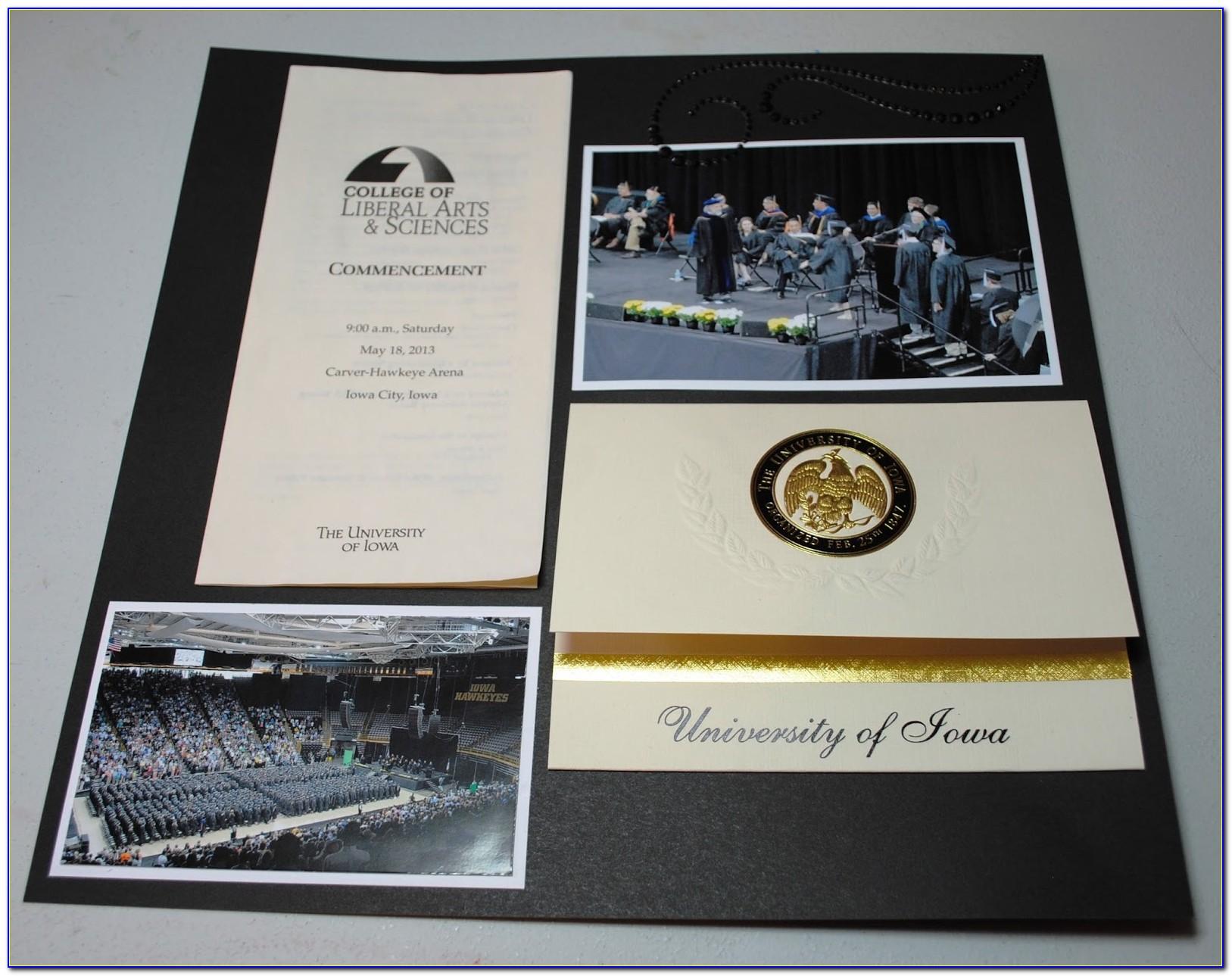 University Of Northern Iowa Graduation Announcements