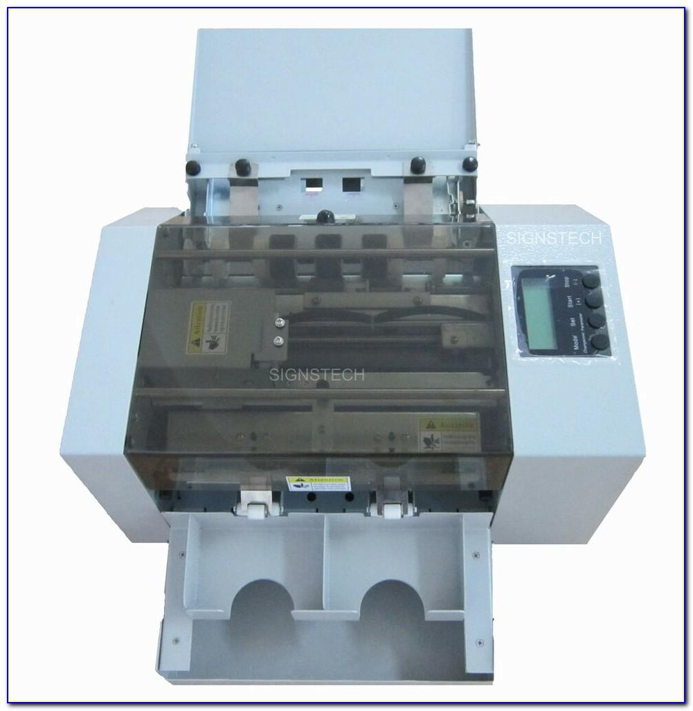 Used Business Card Slitter For Sale
