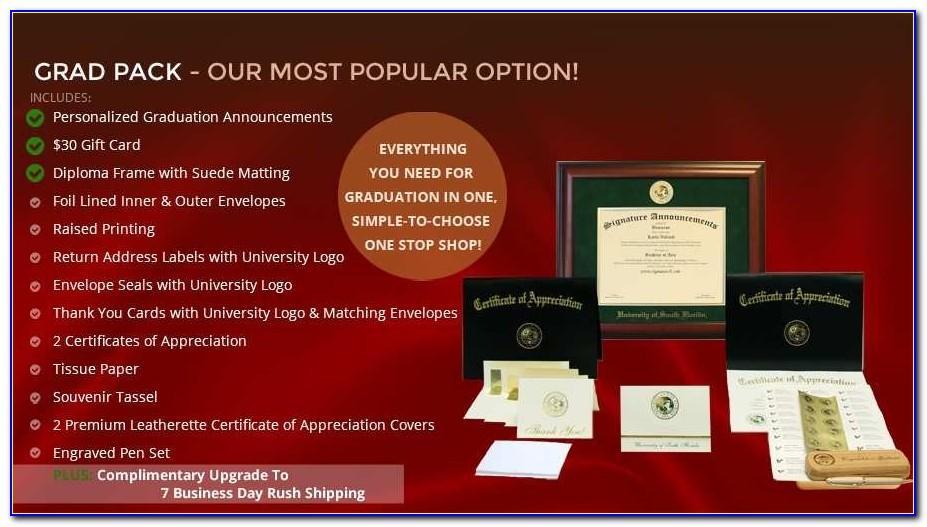 Usf Graduation Announcements