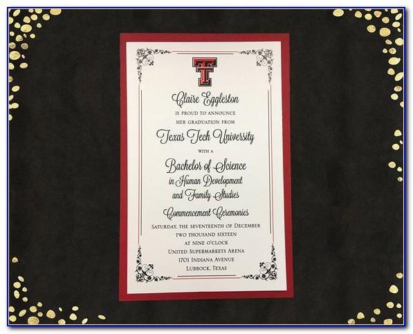 Ut Dallas Graduation Announcements