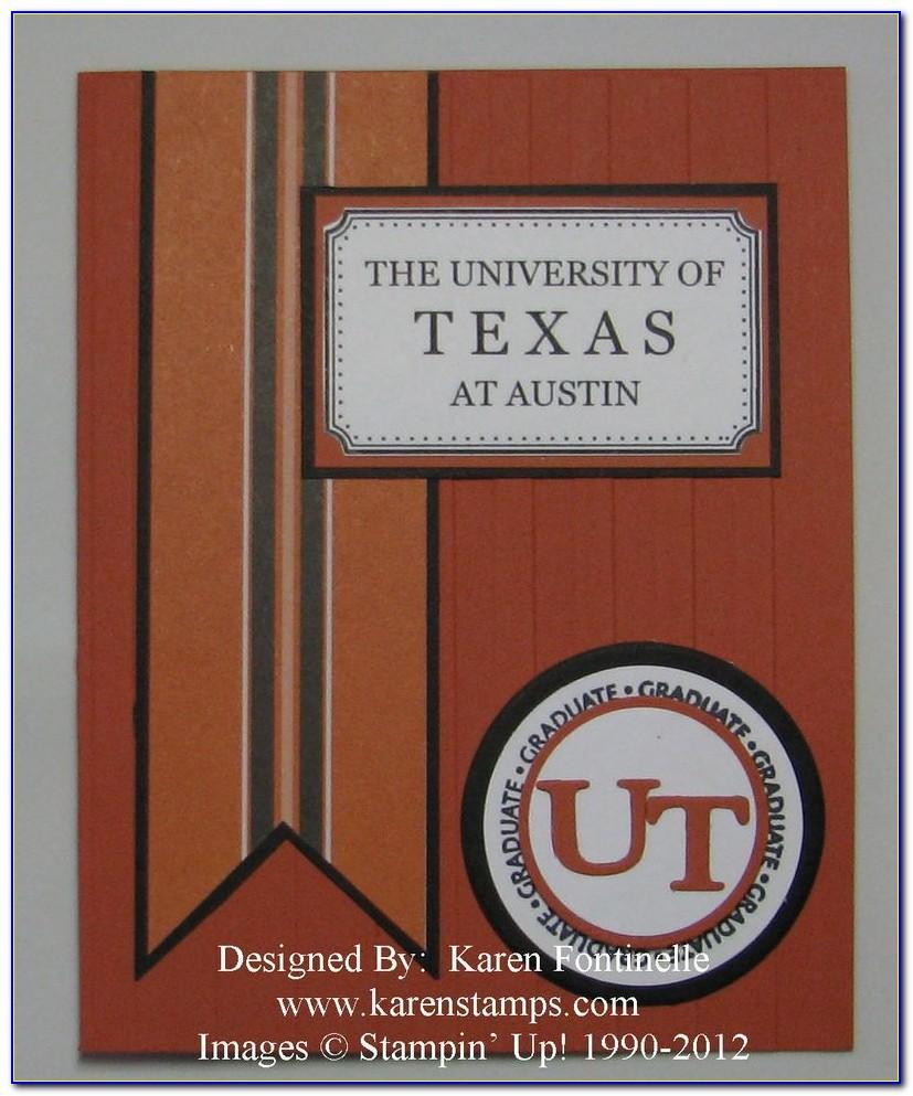 Ut Graduation Announcements