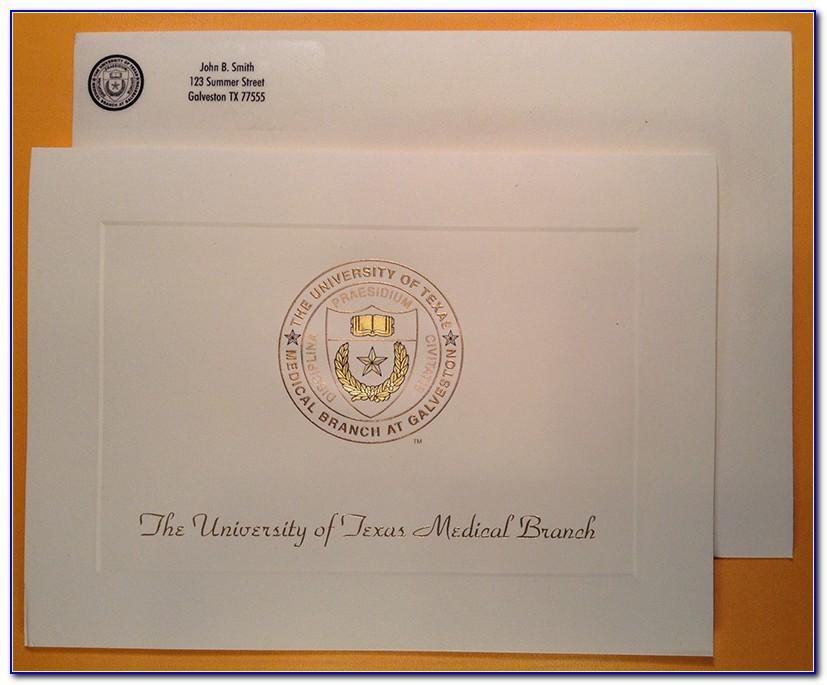 Ut Graduation Invitation