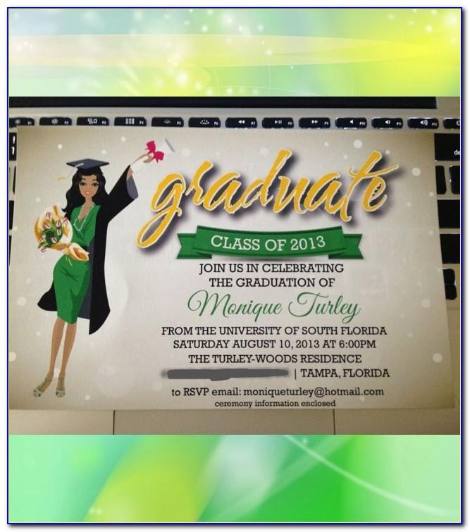 Utexas Graduation Announcements