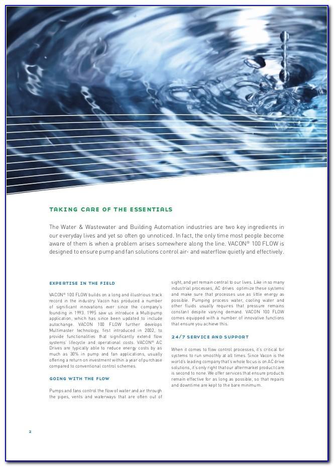 Vacon 100 Brochure Pdf