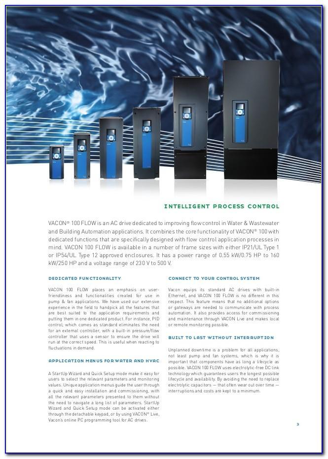 Vacon 100 Flow Brochure