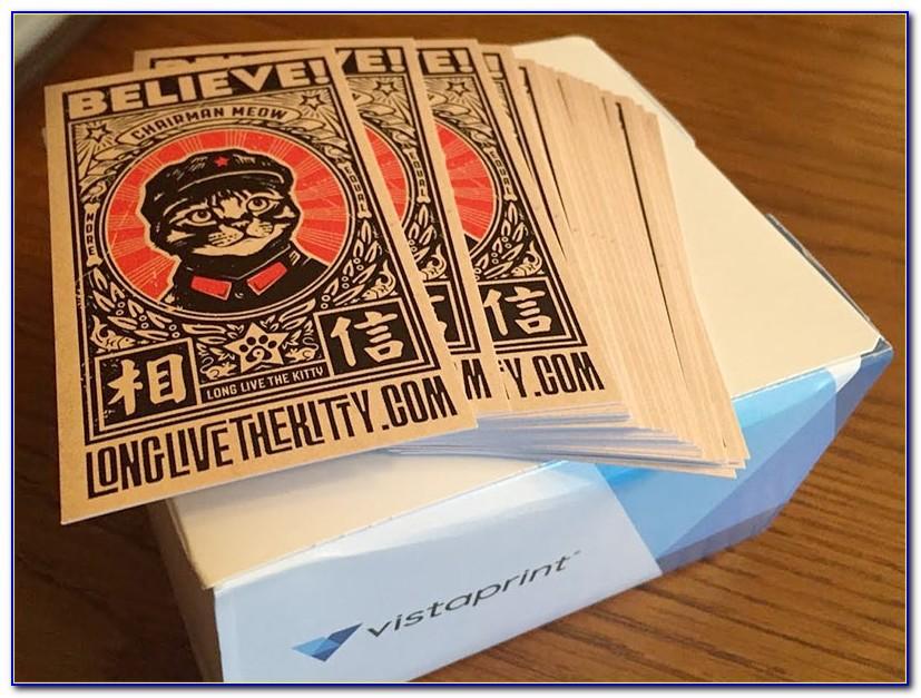 Vistaprint 500 Business Cards Deal