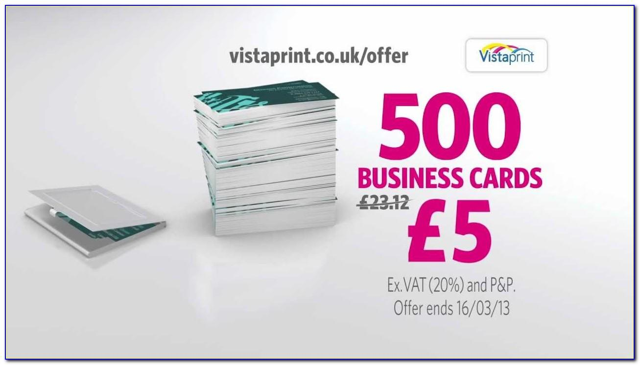 Vistaprint 500 Business Cards Free Shipping