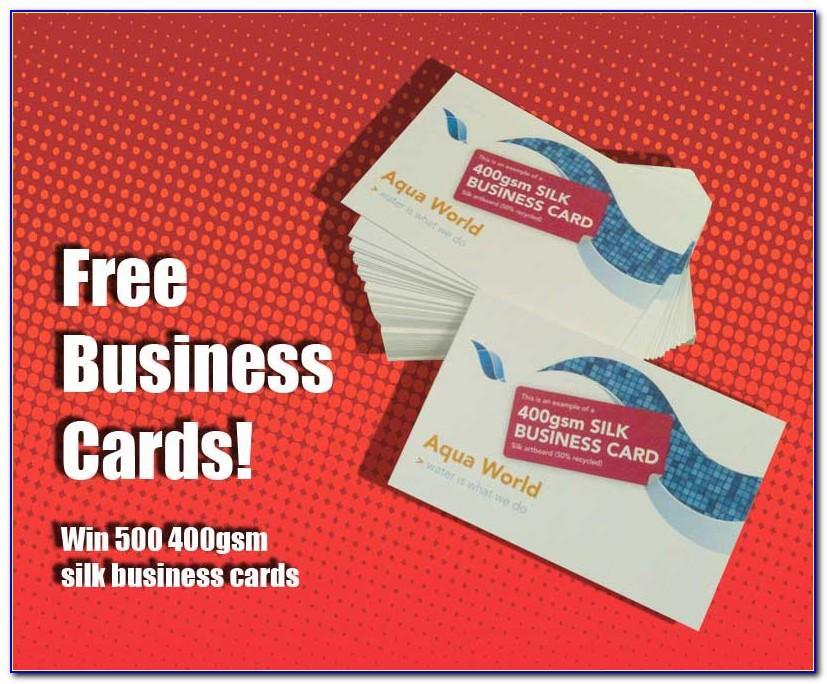 Vistaprint 500 Business Cards Promo
