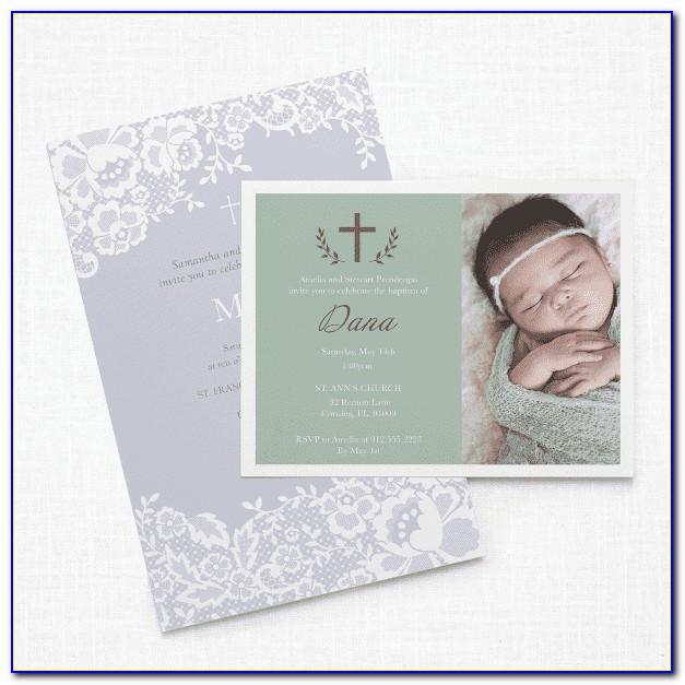 Vistaprint Baby Announcement Cards