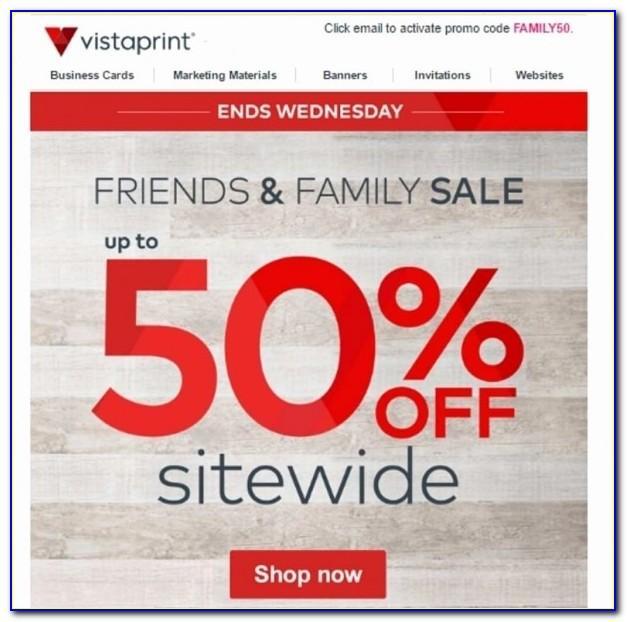 Vistaprint Business Card Promo Code 2019